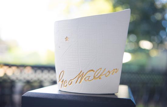 The George & Dorothy Walton Award - Designed by Travis & Dawn Wiggins