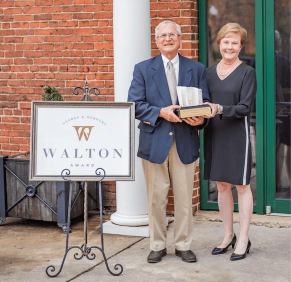 Honoring Phin & Jan Hitchcock - 2019 Walton Award Recipients