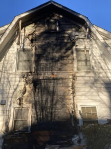 Fire at McManus Home