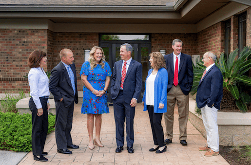 Your financial advisor and client service team
