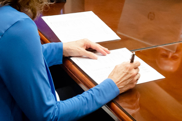 Signing tax and estate planning documents